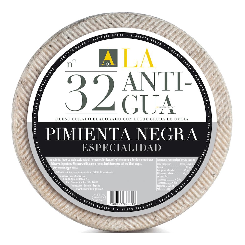 Queijo Curado com Pimenta Preta La Antigua